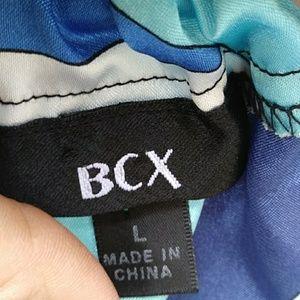 BCX Tops - 5/$25 BCX Satin Halter Top Side Ties